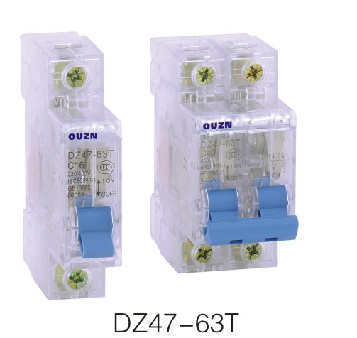 dz47单电磁脱扣的接线图